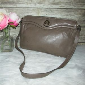 Vintage Etienne Aigner Light Brown Leather Purse